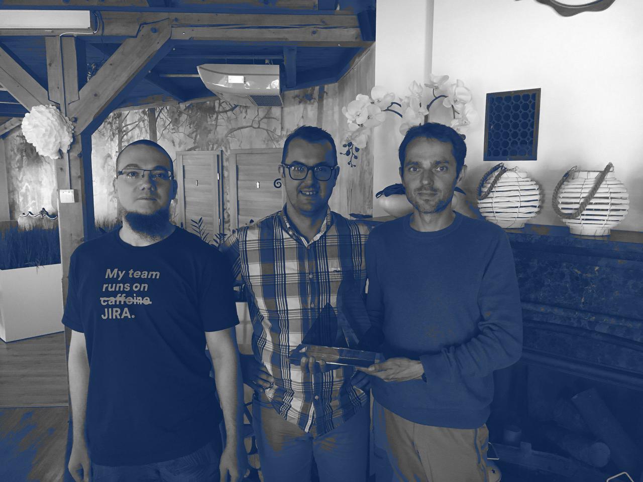 Photo HeroCoders - My team run on Jira