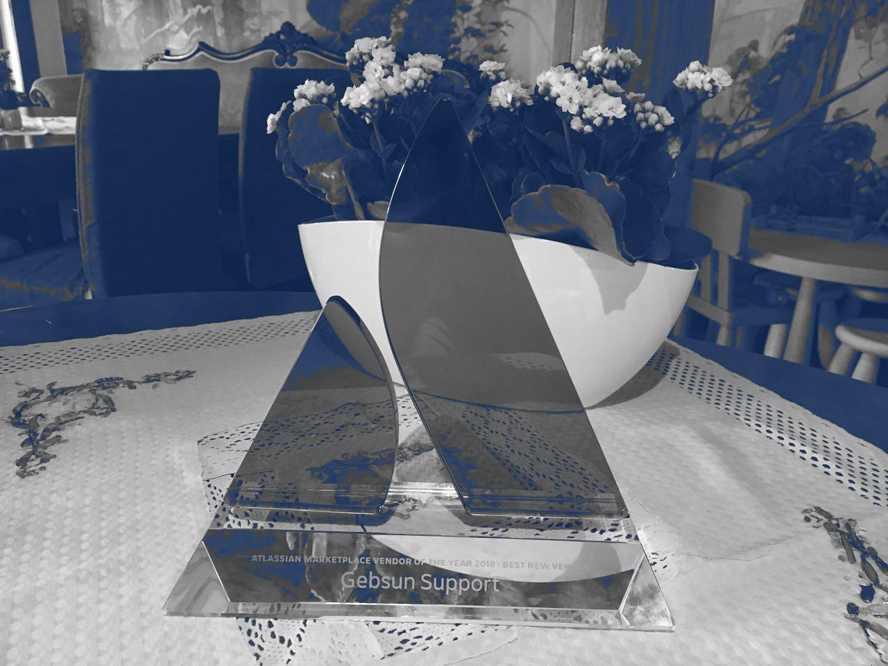 Photo HeroCoders - Gebsun - Atlassian Award