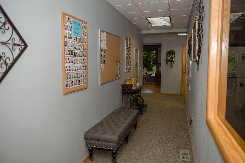 hallway of office