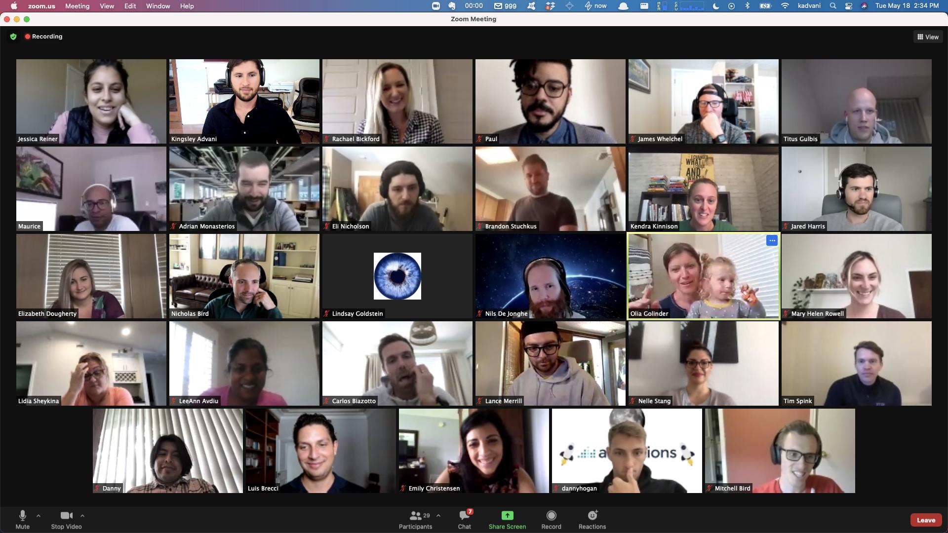 Image Team Zoom Meeting
