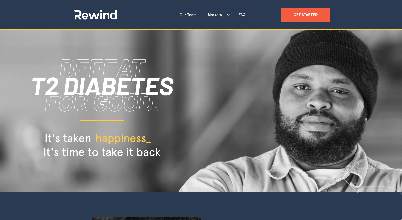 Website for Rewind that we built.