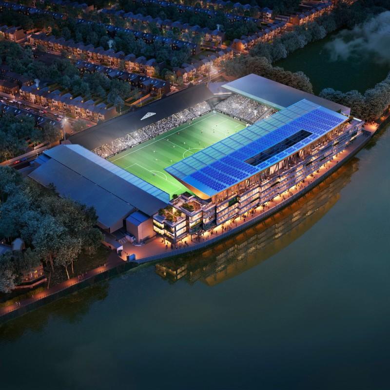 Fulham FC Riverside Stand