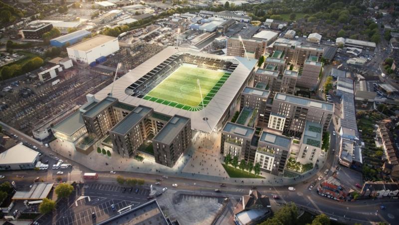 AFC Wimbledon Football Stadium