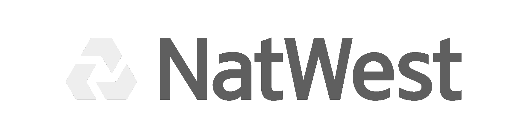 A black and white version of the Natwest logo