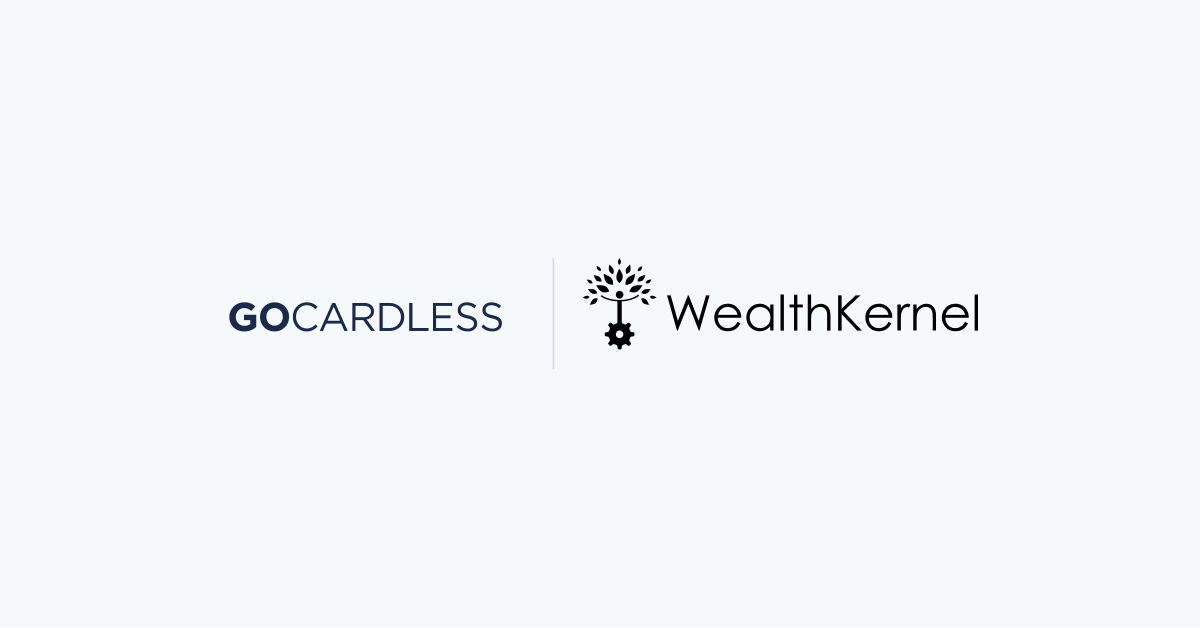 WealthKernel now supports direct debit payments on its platform having integrated GoCardless's payment technology.