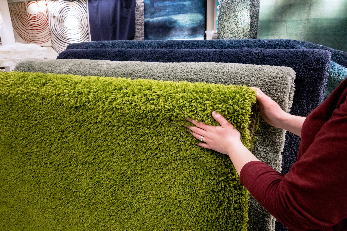 different types of carpet