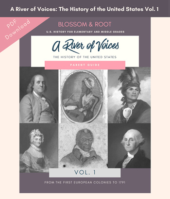 A River of Voices: The History of the United States Vol. 1 - Kristina Garner