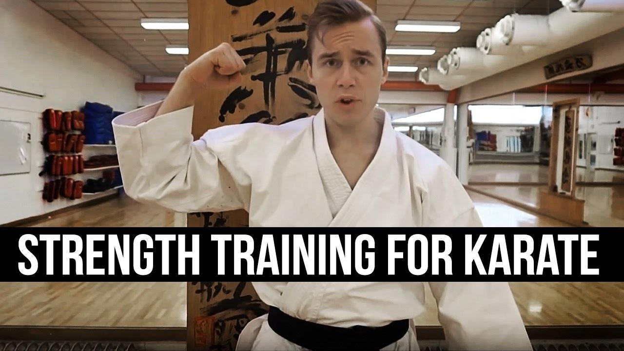 Strength Training for Karate - Jesse Enkamp