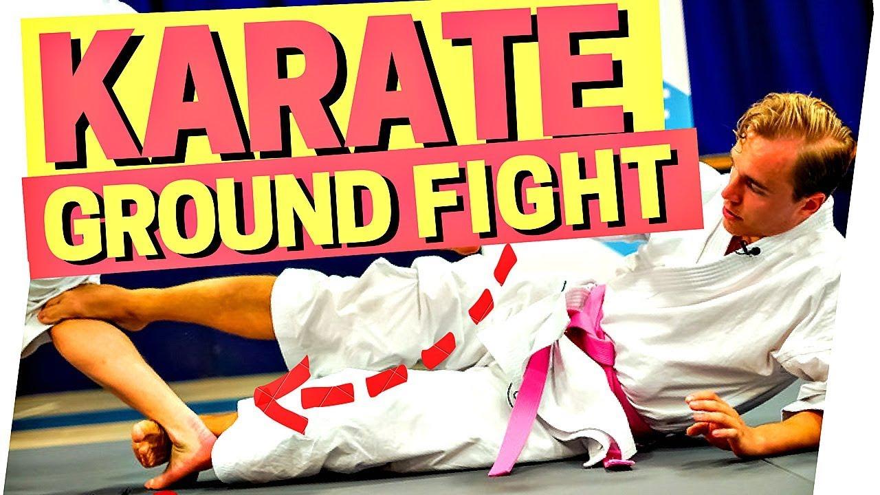 Karate Ground Fighting - Jesse Enkamp