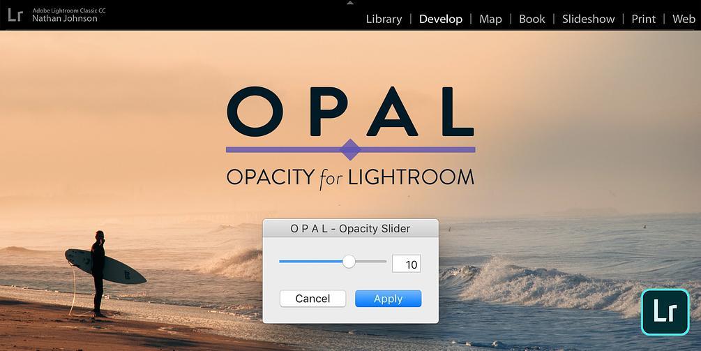 OPAL - Opacity Slider for Lightroom Presets - Nate Johnson
