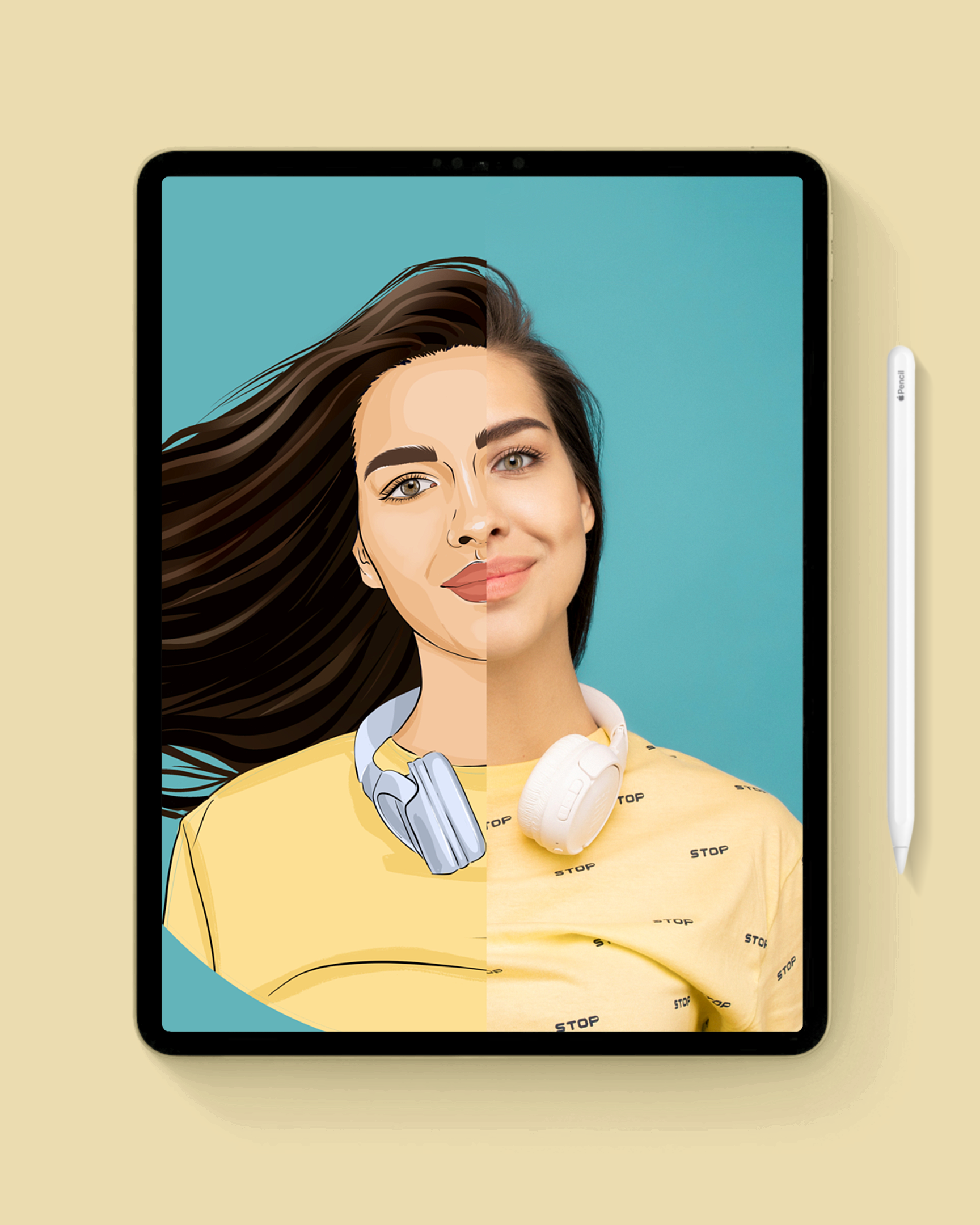 How to Cartoon Yourself in Procreate