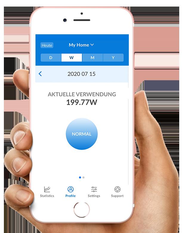 Kundenportal CLEMAP App aktuelle Verwendung