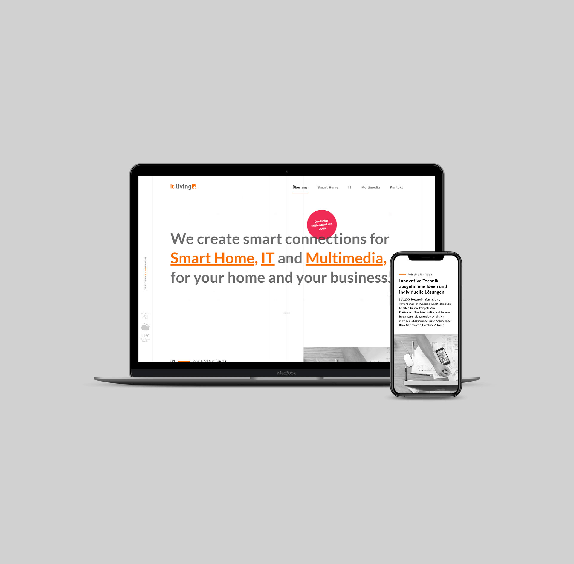 IT-Living Website 01
