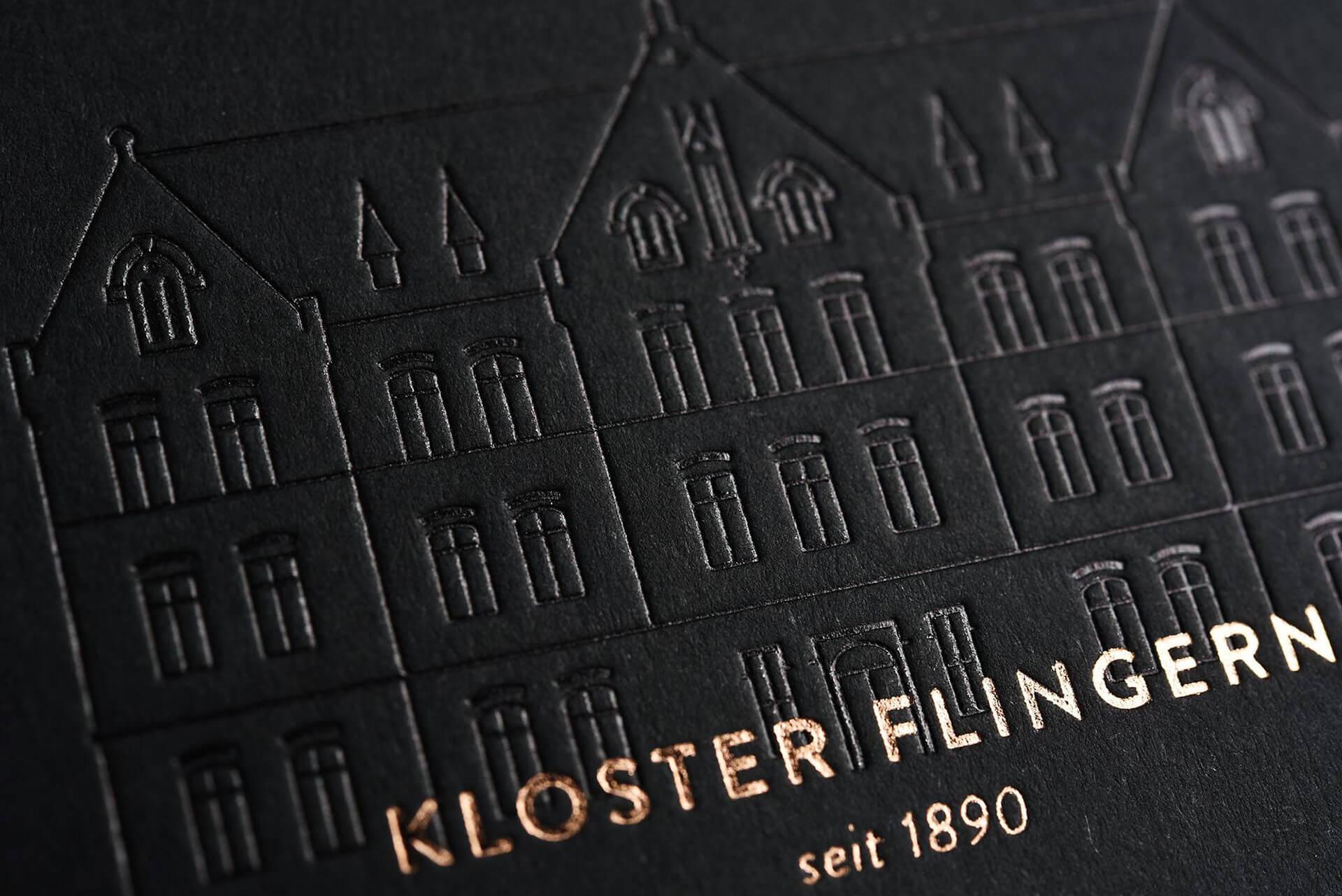 Kloster Flingern Visitenkarte