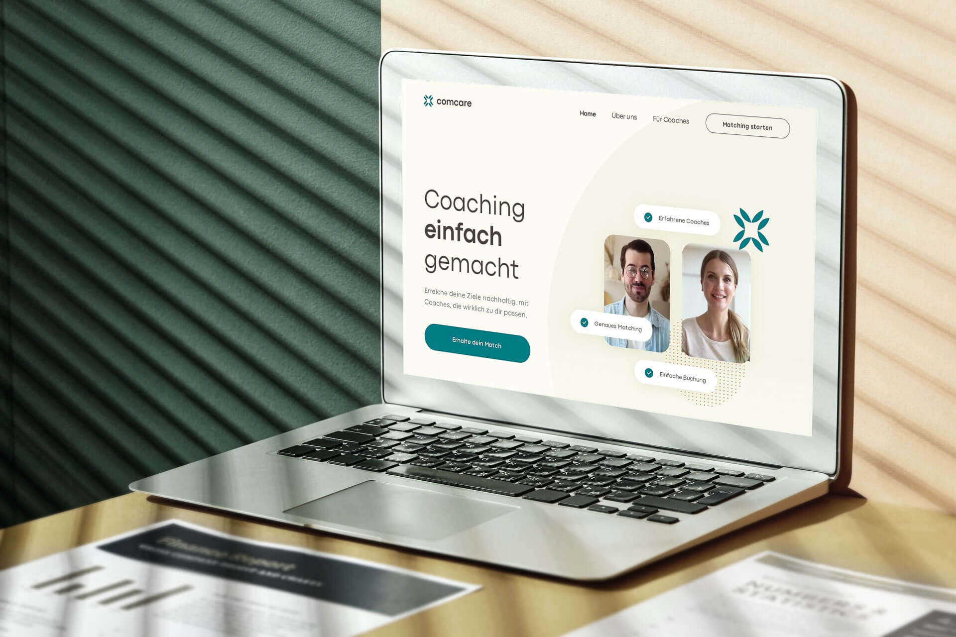 Comcare Webseite