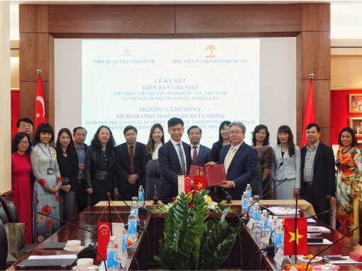 CIG and the Vietnam National Academy of Public Administration Sign MOU to Strengthen Civil Service Training Quality in Vietnam