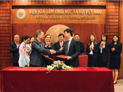 CIG signs a Memorandum of Understanding (MOU) with the Vietnam Academy of Social Sciences (VASS) to establish a long-term partnership