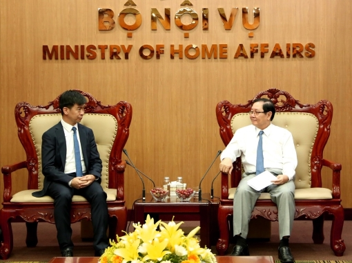 The Chandler Institute of Governance meets with Vietnam's Minister for Home Affairs Le Vinh Tan to discuss training and research collaboration