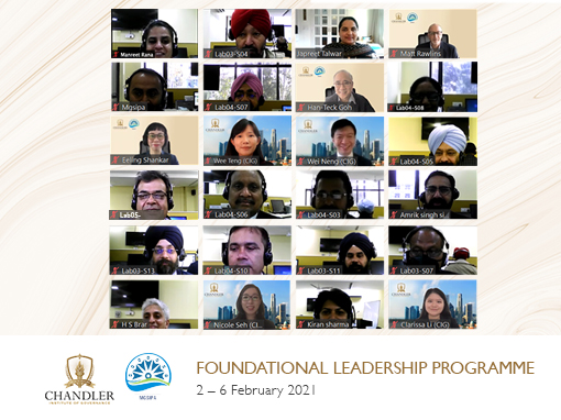 CIG and the Government of Punjab (India) Conduct Leadership Development Programme for PCS Officers