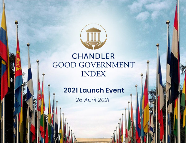 The Chandler Good Government Index 2021 Virtual Launch Event