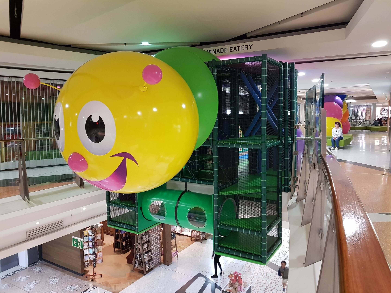 Indoor multi-level playhouse