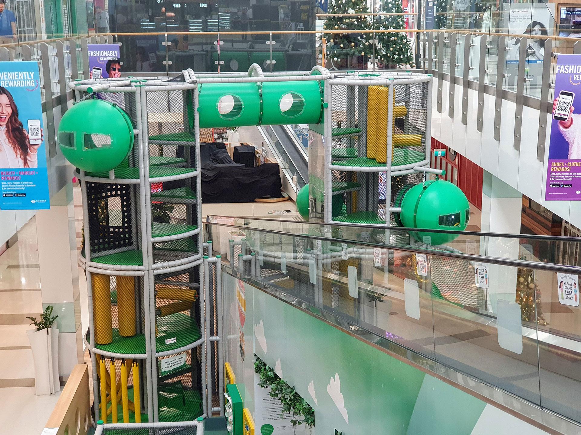 Playtec indoor playgrounds.