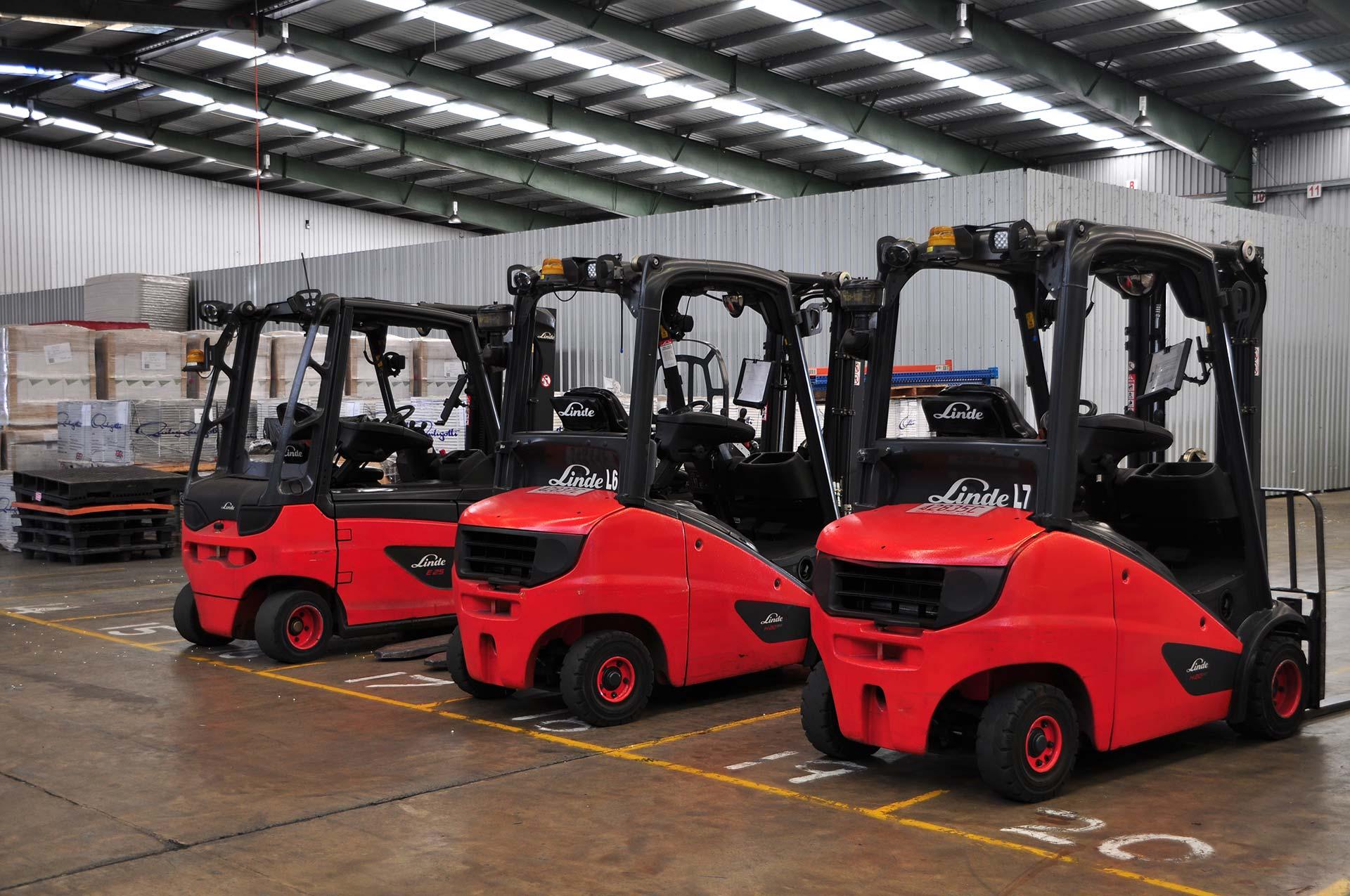 Wickham Freight Lines truck terminal