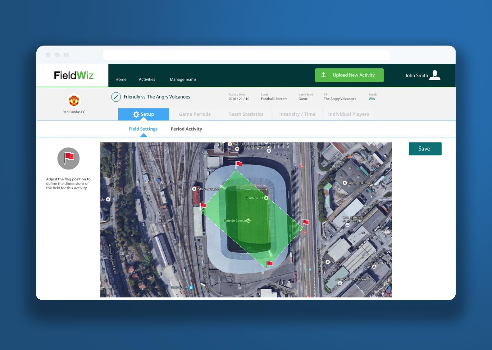 Fieldwiz app screenshot