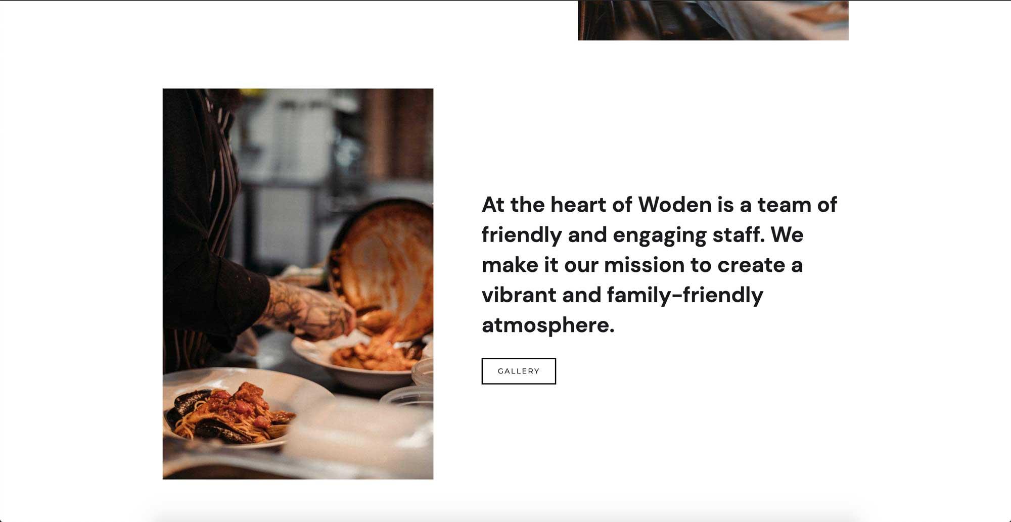 restaurant web design easyweb