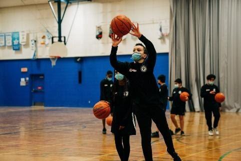 Éducation physique - basketball