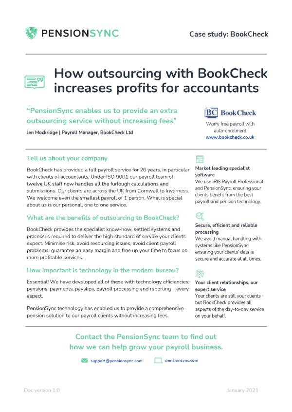 BookCheck case study