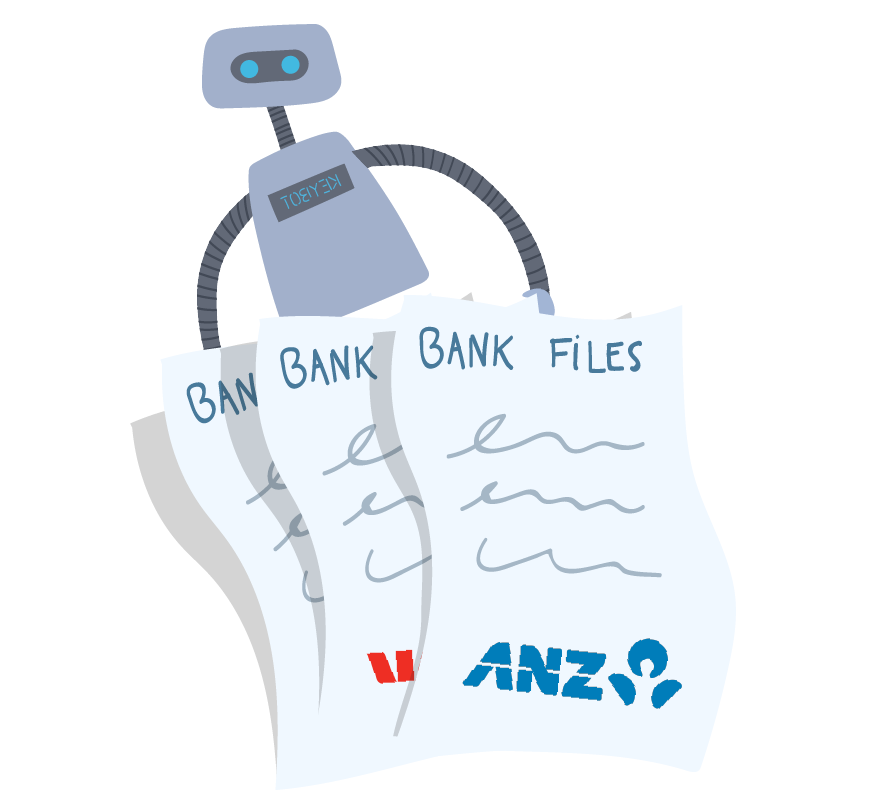 KeyBot holding onto NZ bank files