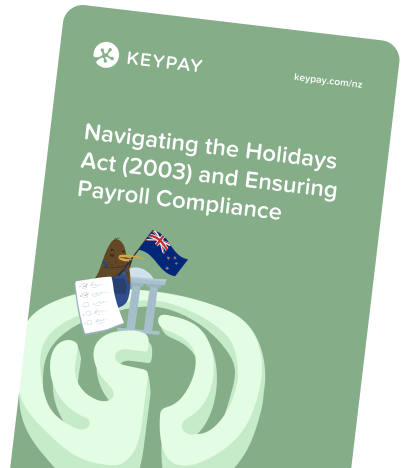 KeyPay NZ Holidays Act White Paper