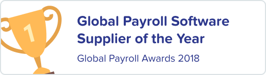 KeyPay is the winner of the Global Payroll Software Supplier of the Year - Global Payroll Awards 2018