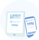 KeyPay employee self service tools - iPad and mobile app icons