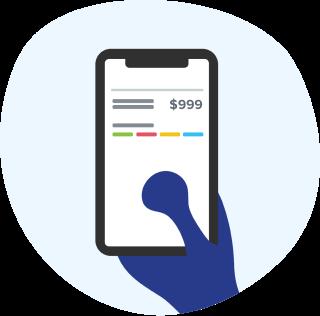 Employee self service mobile icon