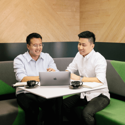 Matthew Phua and Bryan Zhao, Founders of Harvest Accounting