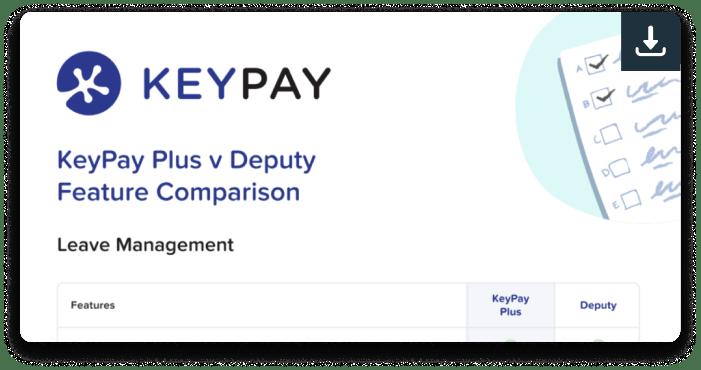 KeyPay Plus v Deputy