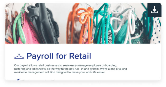 Payroll for retail