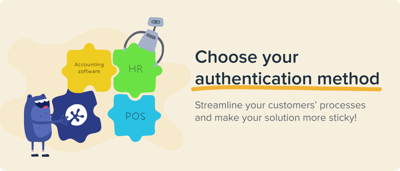 Choose your authentication method