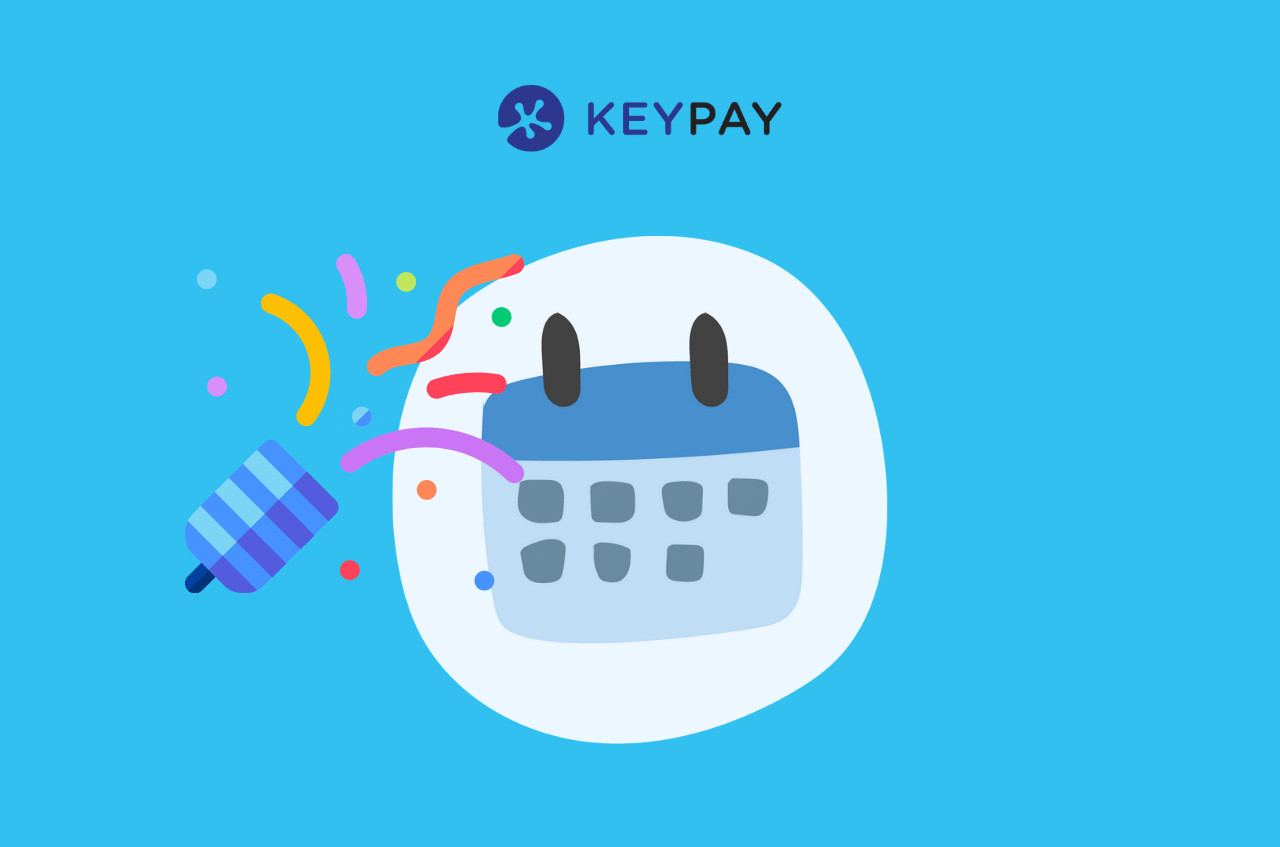 Work anniversaries in KeyPay's calendar feeds