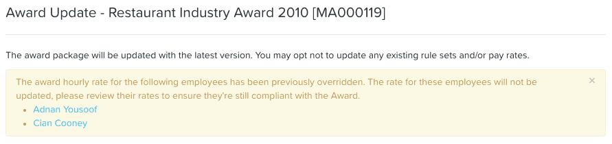 Introducing a simpler way of paying above award rates