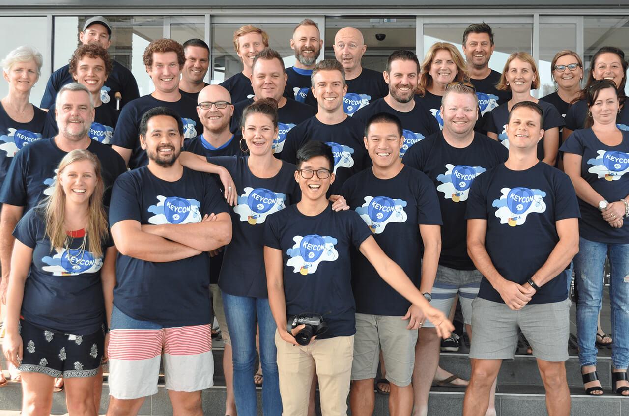 KeyPay team at KeyCon
