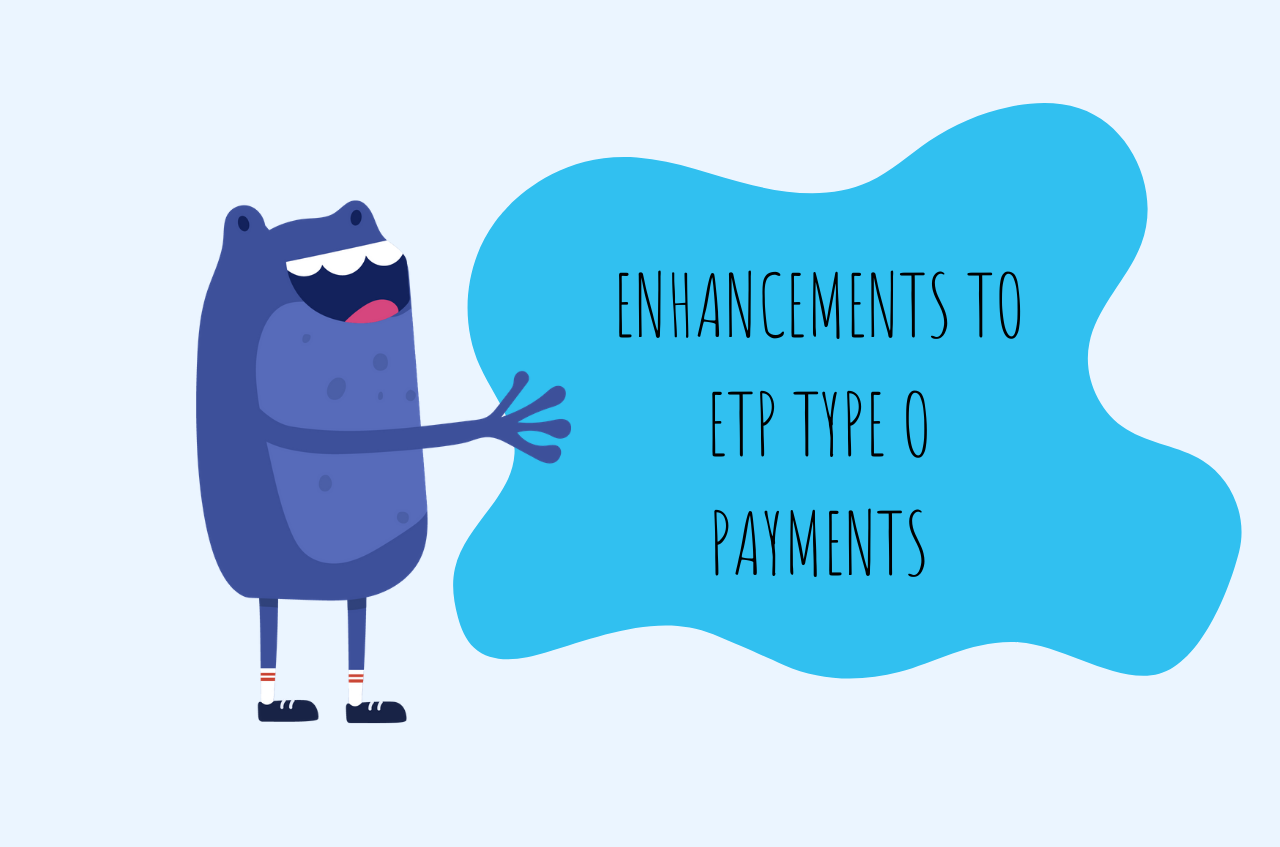 ETP Type O Payments