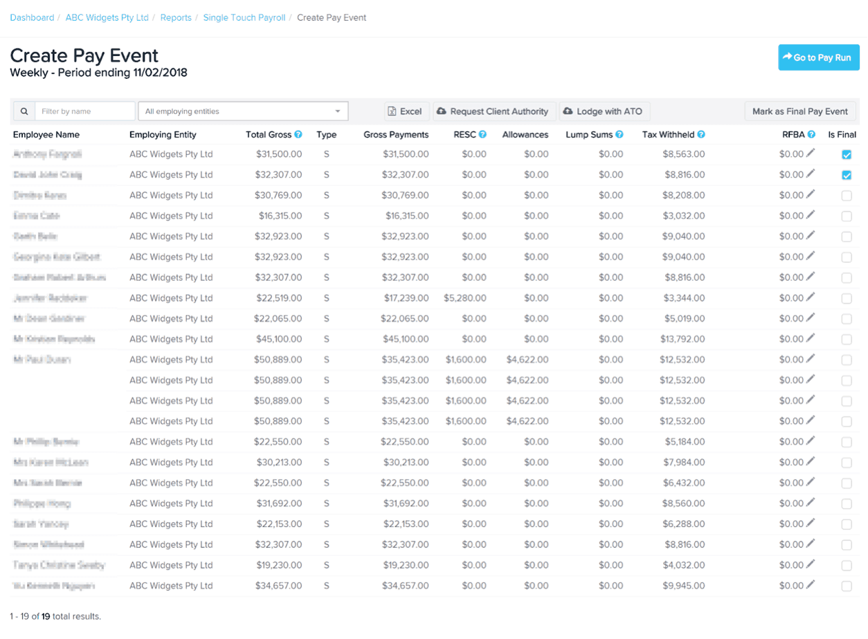 Single Touch Payroll in KeyPay