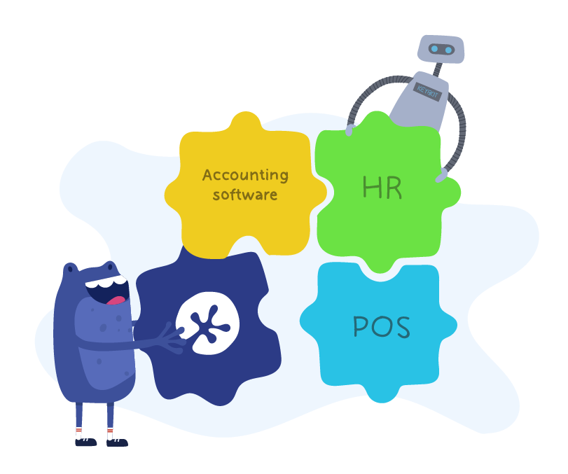 KeyPay offers integration with HR platforms like HappyHR
