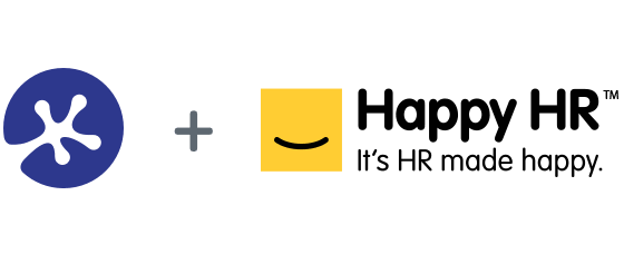 keypay and happy hr logos