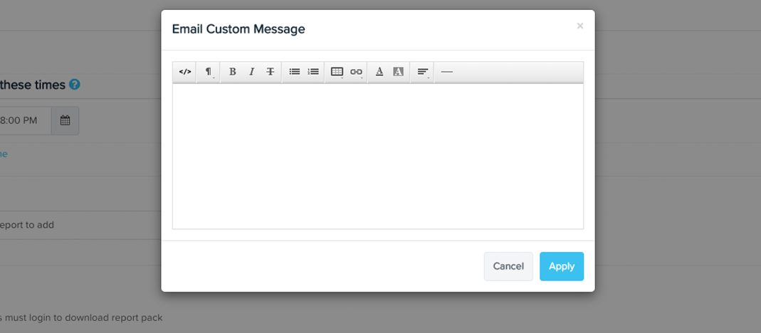Create email body