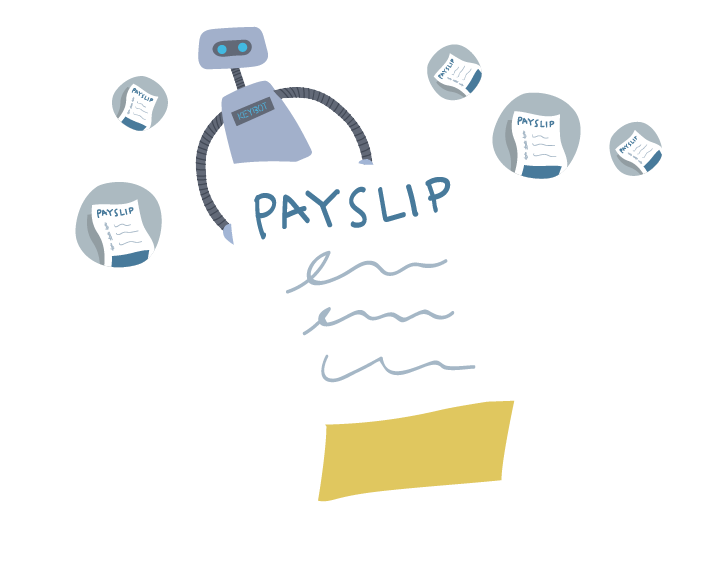 generate payslips