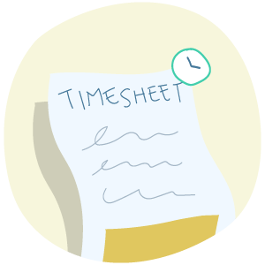 Automated timesheets